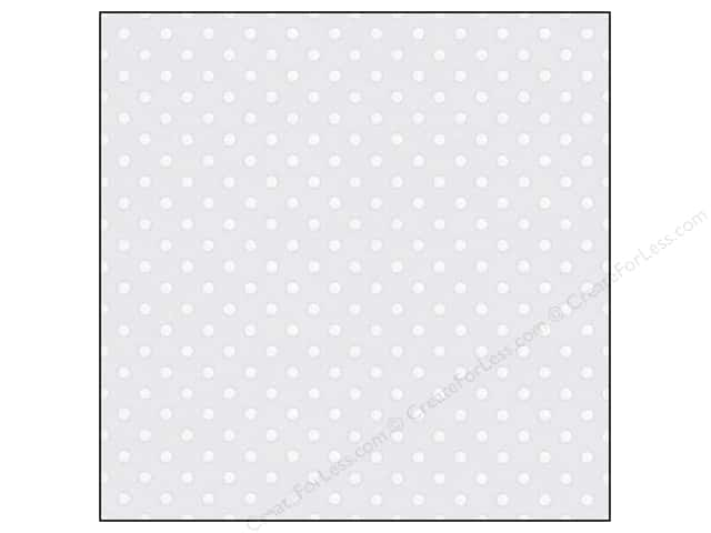 Doodlebug 12 x 12 in. Paper Vellum Sprinkles Lily White (25 sheets)