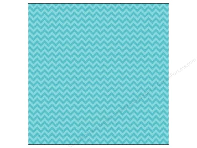 Doodlebug 12 x 12 in. Paper Sugar Coated Chevron Swimming Pool (25 sheets)