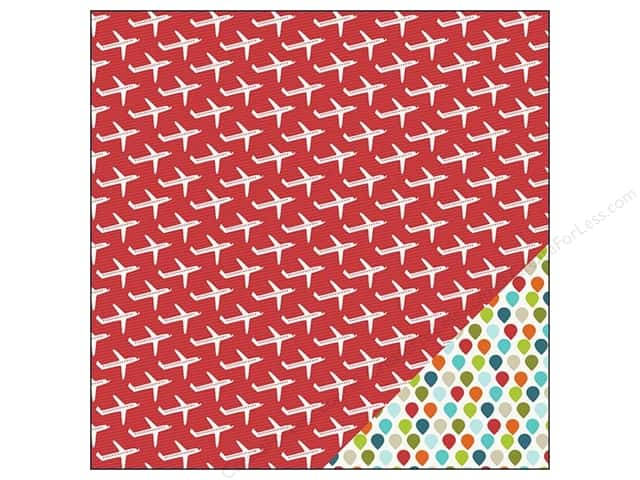 Imaginisce Paper 12x12 Perfect Vacation Fly Away (25 sheets)