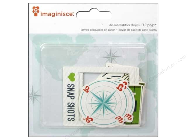 Imaginisce Die Cut Perfect Vacation Oh Snap