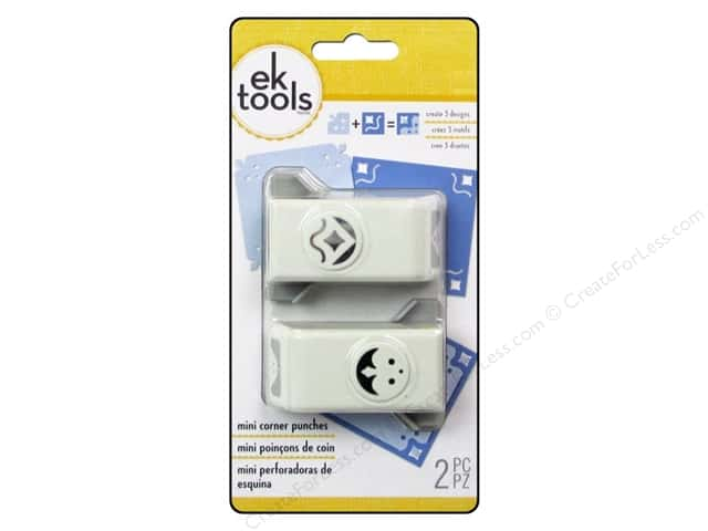 EK Paper Shapers Mini Corner Punch Majestic 2pc