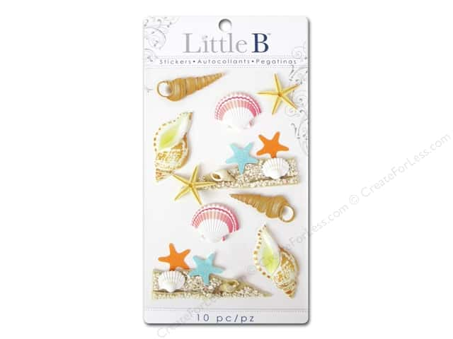 Little B Sticker Medium Sea Shells