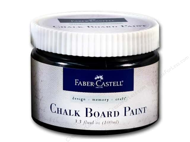 FaberCastell Prep & Finish Chalkboard Paint 3.3 fl oz Jar