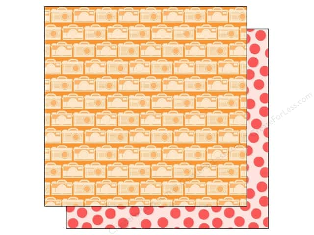 American Crafts 12 x 12 in. Paper Summer Collecton Smile (25 sheets)