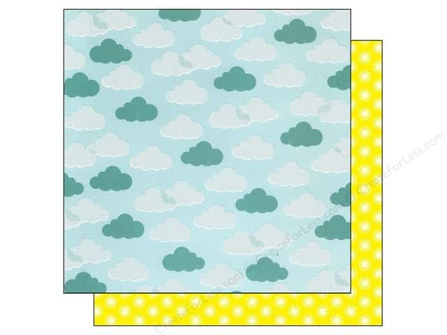 American Crafts 12 x 12 in. Paper Summer Collecton Summer Blue Skies (25 sheets)