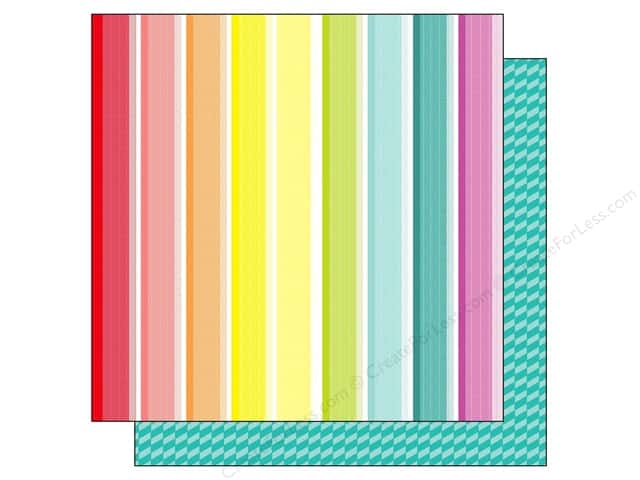 American Crafts 12 x 12 in. Paper Summer Collecton Beach Towel (25 sheets)