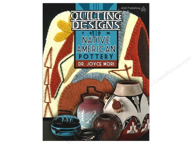 American Quilter's Society Quilting Designs From Native American Pottery Book by Dr. Joyce Mori