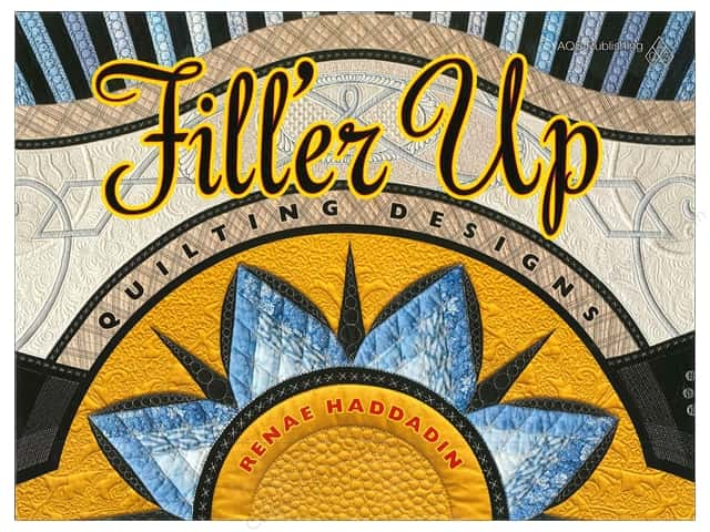 American Quilter's Society Filler Up Quilting Designs Book by Renae Haddadin