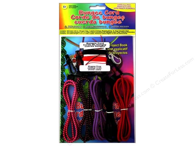 Pepperell Bungee Cord Super Value Pack Primary