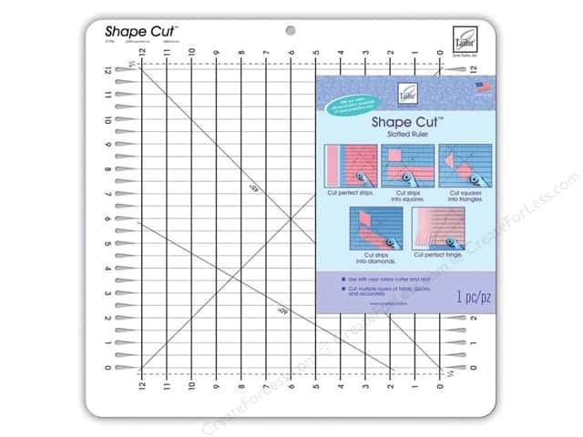 June Tailor Ruler Shape Cut 12 in. x 12 in.
