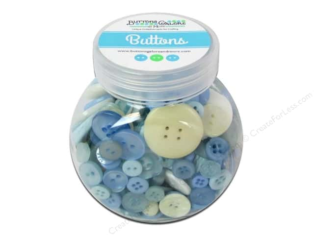 Buttons Galore Button Jar 5oz Baby Boy