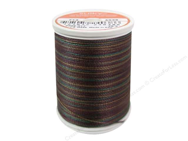 Sulky Blendables Cotton Thread 12 wt. 330 yd. #4038 Deep Woods