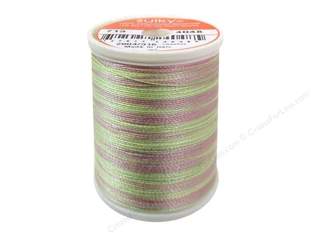 Sulky Blendables Cotton Thread 12 wt. 330 yd. #4048 Gentle Hues
