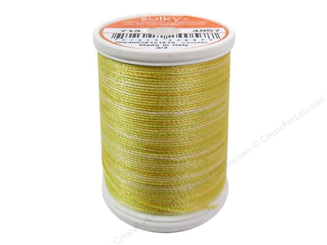 Sulky Blendables Cotton Thread 12 wt. 330 yd. #4057 Fresh Butter