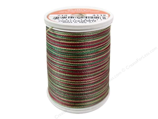 Sulky Blendables Cotton Thread 12 wt. 330 yd. #4112 Vintage Holiday