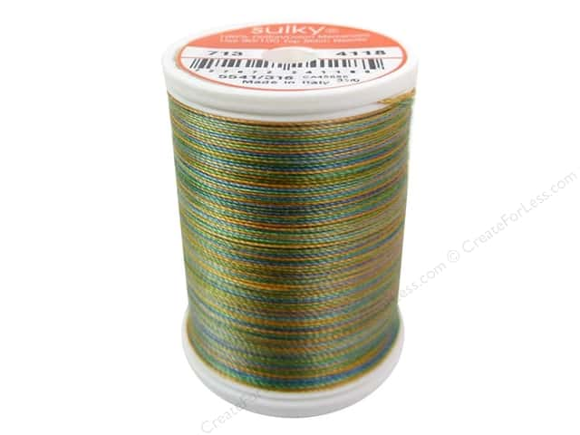 Sulky Blendables Cotton Thread 12 wt. 330 yd. #4118 Caribbean