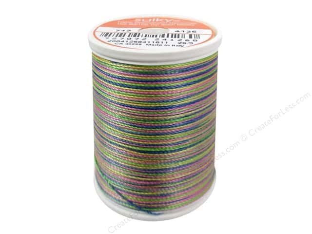 Sulky Blendables Cotton Thread 12 wt. 330 yd. #4126 Basic Brights