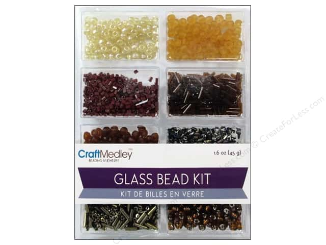 Multicraft Bead Glass Kit Mix Nuggets