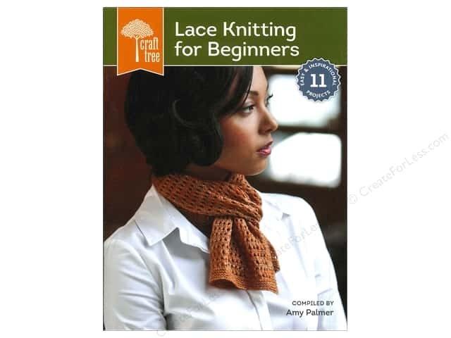 Interweave Press Craft Tree Lace Knitting For Beginners Book