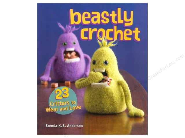 Interweave Press Beastly Crochet Book