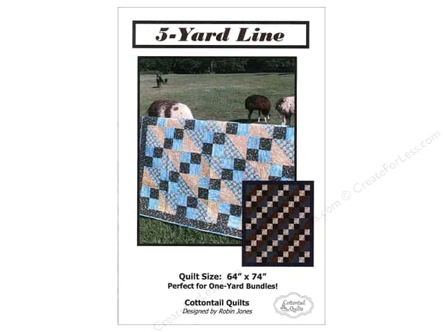 Cottontail Quilts 5-Yard Line Pattern