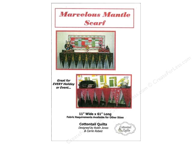 Cottontail Quilts Marvelous Mantle Scarf Pattern
