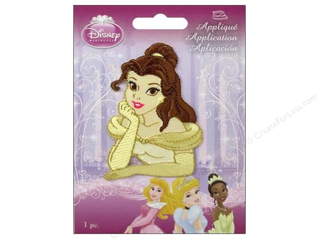 Simplicity Disney Iron On Appliques Belle
