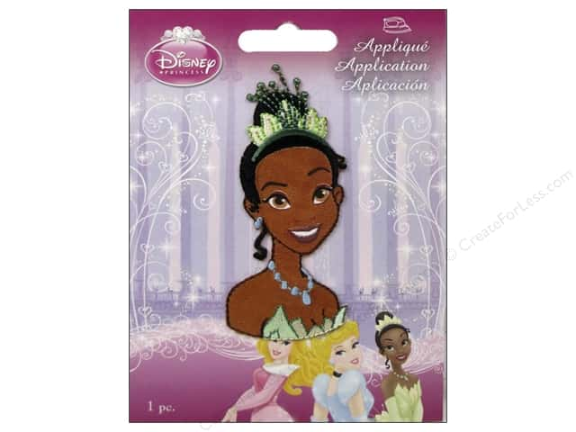 Simplicity Disney Iron On Appliques Small Tiana