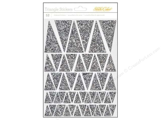 Studio Calico Stickers Lemonlush Chipboard Glitter Silver