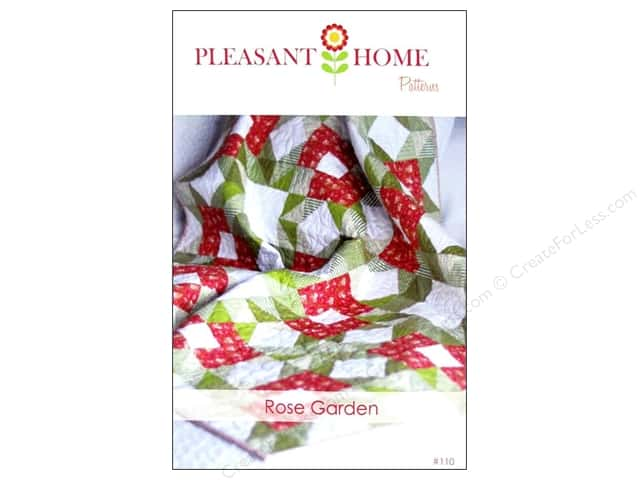 Pleasant Home Rose Garden Quilt Pattern