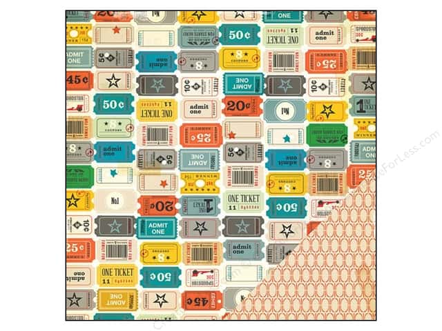 Crate Paper 12 x 12 in. Paper Boys Rule Arcade (25 sheets)