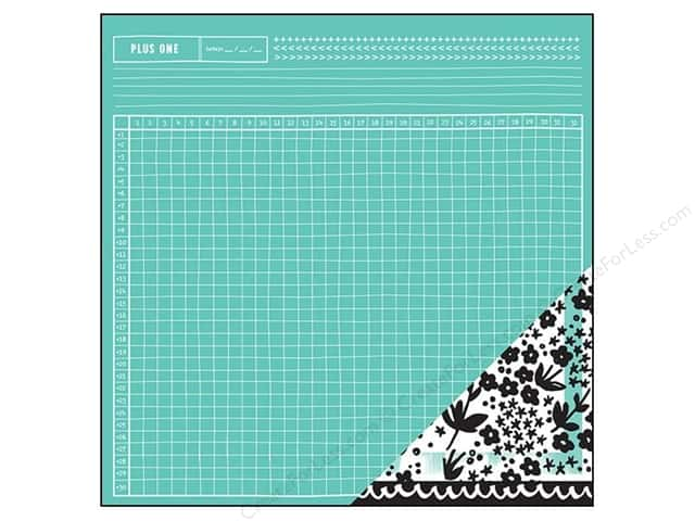 American Crafts 12 x 12 in. Paper Amy Tangerine Plus One Assistant (25 sheets)