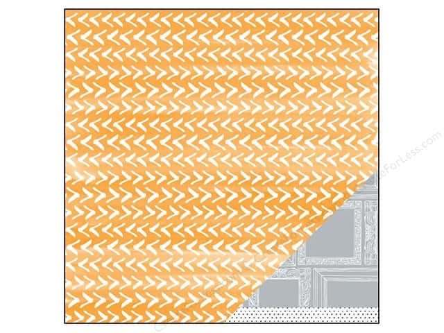 American Crafts 12 x 12 in. Paper Amy Tangerine Plus One Co-Pilot (25 sheets)