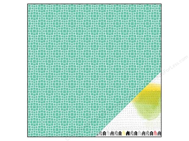 American Crafts 12 x 12 in. Paper Amy Tangerine Plus One Accomplice (25 sheets)