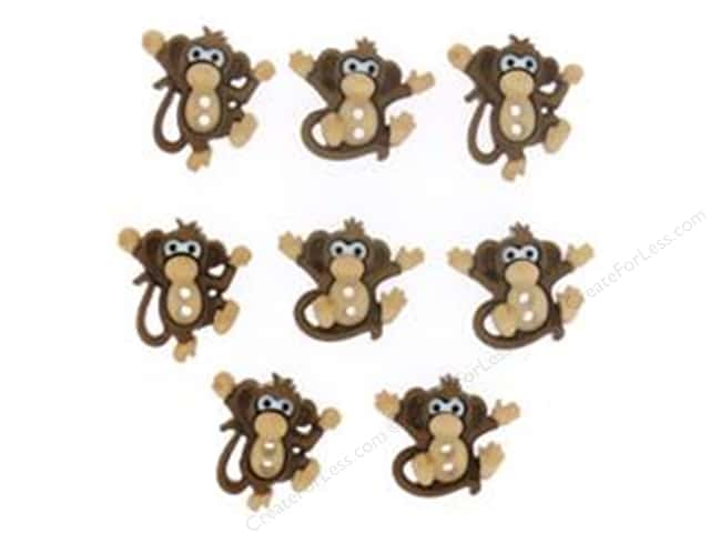 Jesse James Dress It Up Embellishments Sew Cute Monkeys