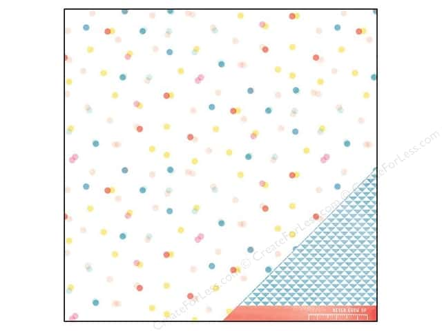 American Crafts 12 x 12 in. Paper Dear Lizzy Daydreamer Skipping Along (25 sheets)