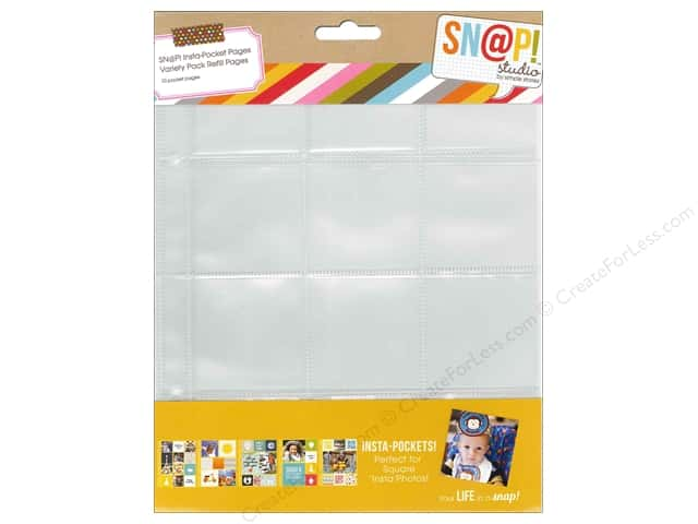 Simple Stories Sn@p Insta-Pocket Pages 10 pc. Variety Pack