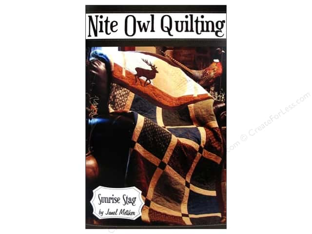 Nite Owl Quilting Sunrise Stag Pattern