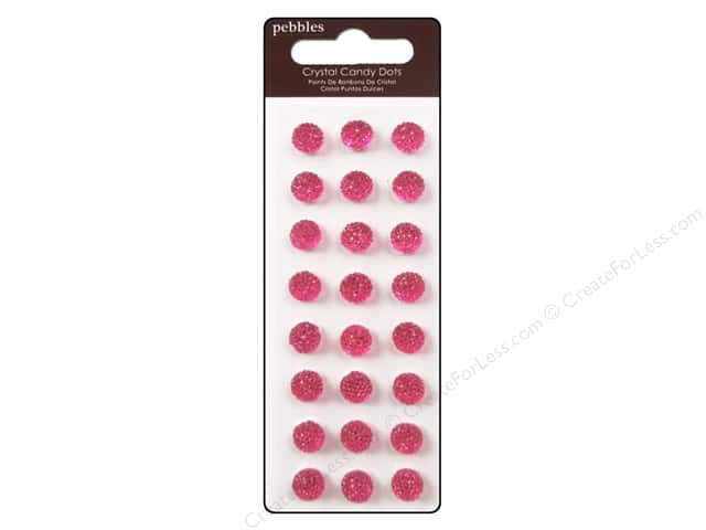Pebbles Sticker Candy Dots Crystal Taffy