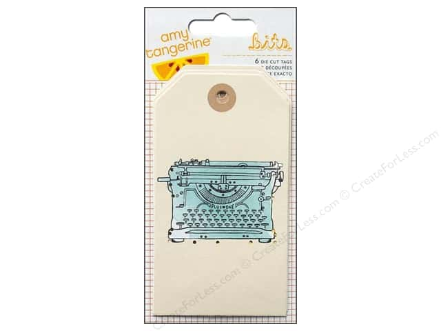 American Crafts Tags Amy Tangerine Plus One Stitched & Layered