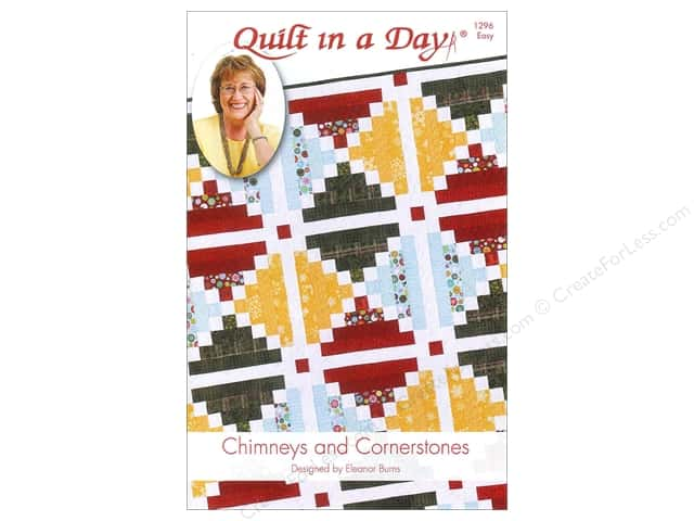 Quilt In A Day Chimneys and Cornerstones Pattern
