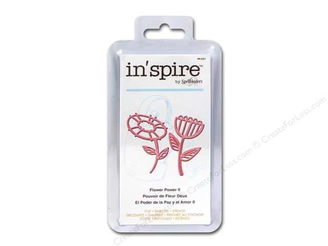 Spellbinders Shapeabilities Die Inspire Flower Power 2