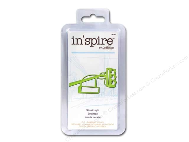 Spellbinders Shapeabilities Die Inspire Street Light