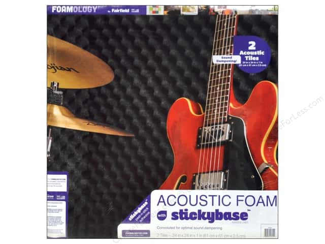 "Fairfield Foam Acoustic 24""x 24""x 1"" 2pc"