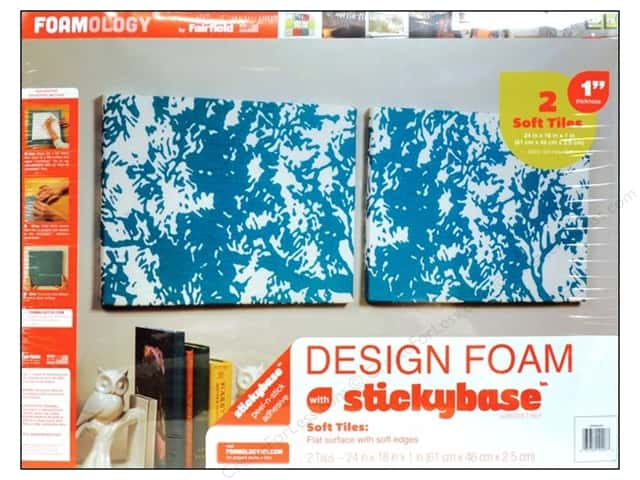 "Fairfield Design Foam 24""x 18""x 1"" 2pc"