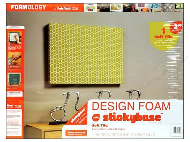 "Fairfield Design Foam 24""x 18""x 2"" 1pc"