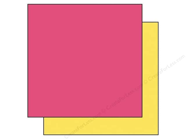 Echo Park 12 x 12 in. Paper Capture Life Collection Pink/Yellow (25 sheets)