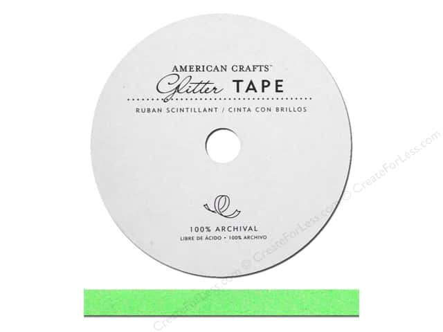 American Crafts Glitter Tape 3/8 in. Cricket