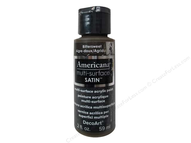 DecoArt Americana Multi-Surface Satin 2 oz. Bittersweet