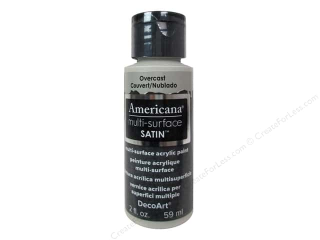 DecoArt Americana Multi-Surface Satin 2 oz. Overcast